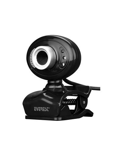 Everest Everest Sc-826 Pixels 0.3 Mega , 640X480 Usb Mikrofonlu Görüş Ledli Pc Kamera Siyah